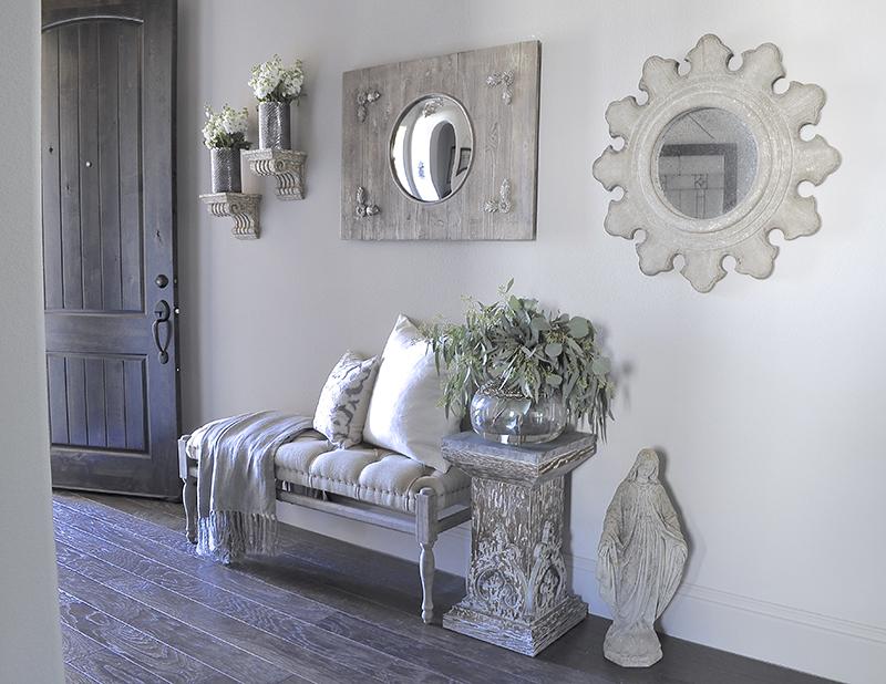 Elegant Foyer Entryway Details-7