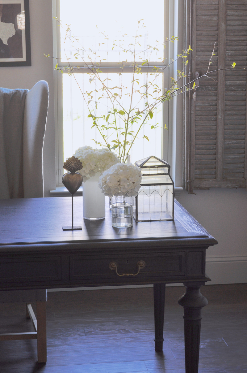 Lovely Home Office Restoration Hardware Furnishings and Vintage