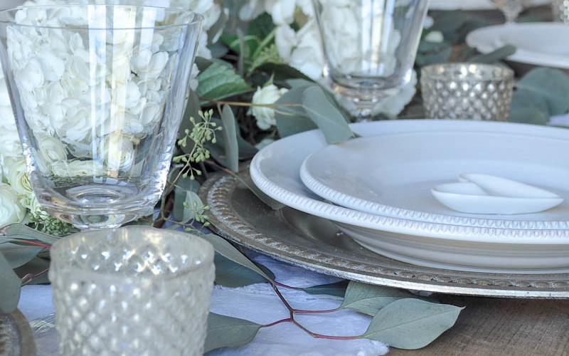 Elegant Valentine's Day Dinner Party