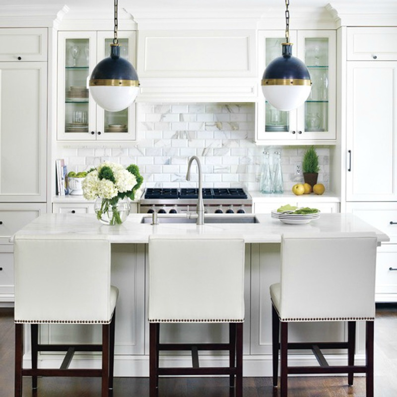 White Kitchen Marble the white kitchen is here to stay - decor gold designs