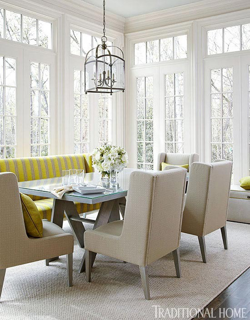 Superbe Kitchen Table With Settee