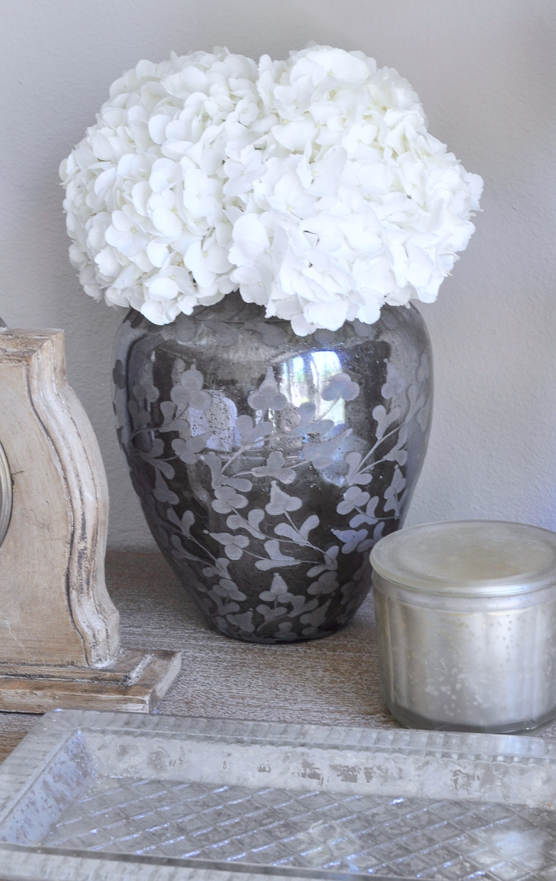 Bedside Table Essentials Fresh Flowers
