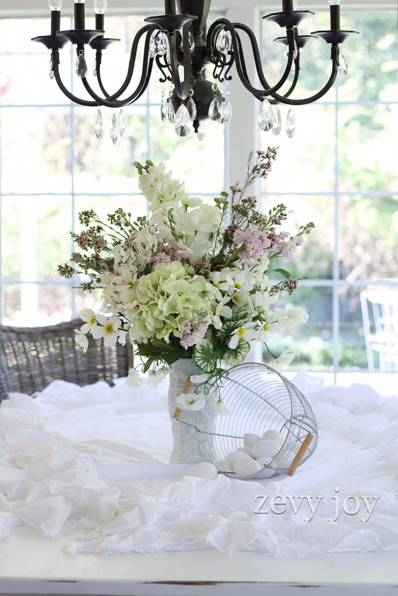 White Vase Challenge Zevy Joy
