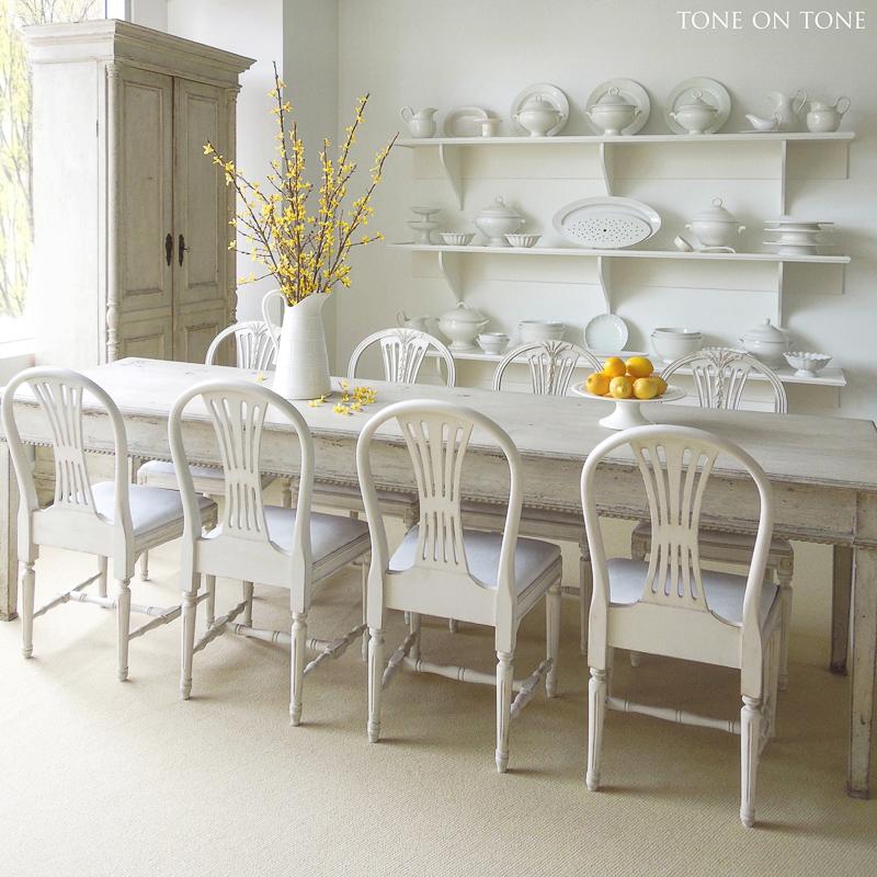 White Vase Challenge tone on tone