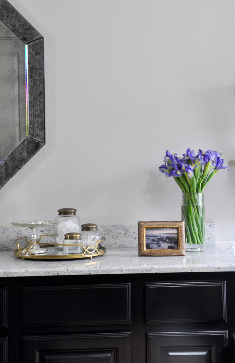 A master bath retreat decor gold designs for Beautiful bathroom accessories