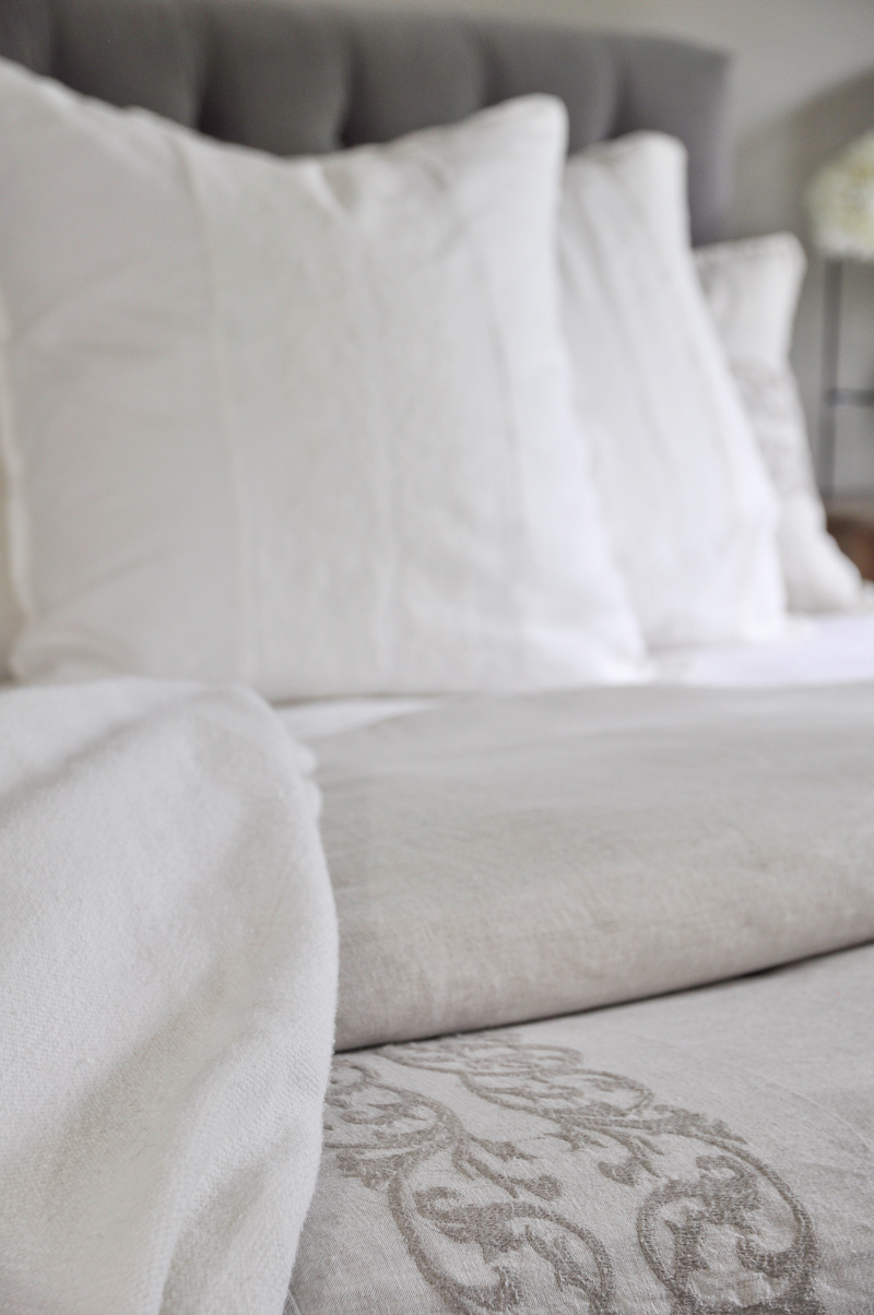 Linen Bedding by Pom Pom at Home_
