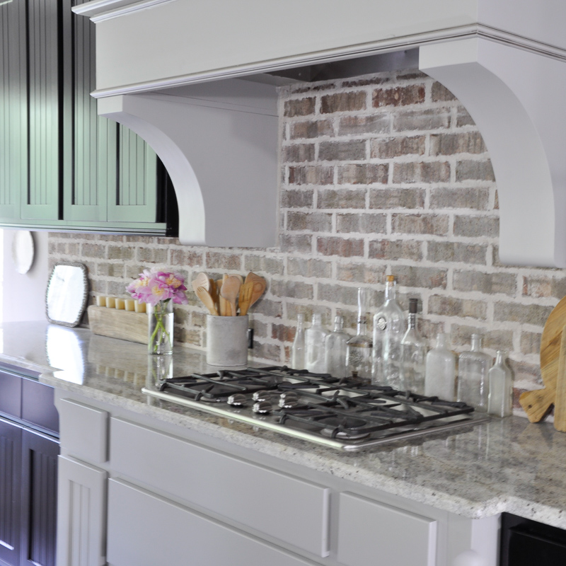 Brick Backsplash Kitchen Simple Brick Backsplash Kitchen