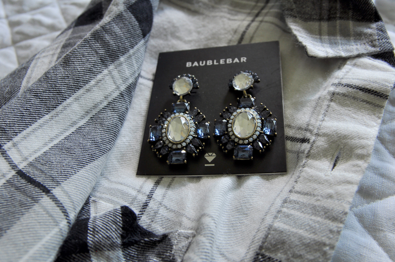 Black and White Plaid Shirt from Nordstrom Anniversary Sale_