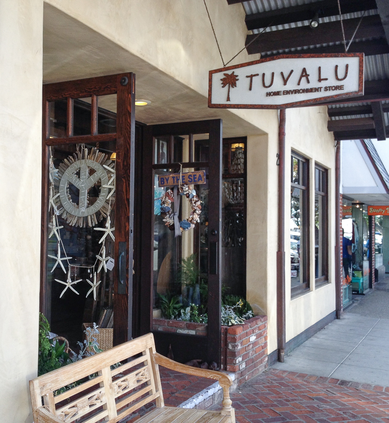 Tuvalu home decor shop in laguna beach california_