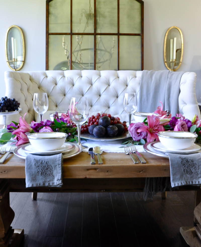 Table Styling Basics Featuring Arte Italica Decor Gold