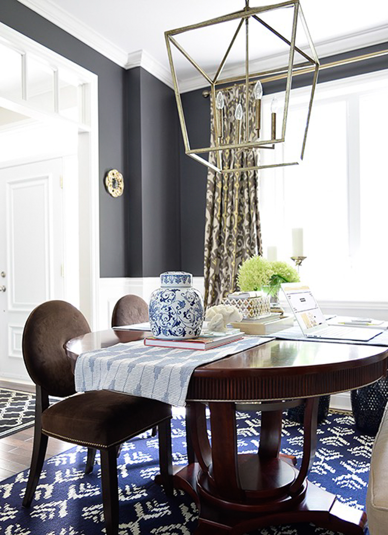 Beautiful dining room work space by Citrine Living_