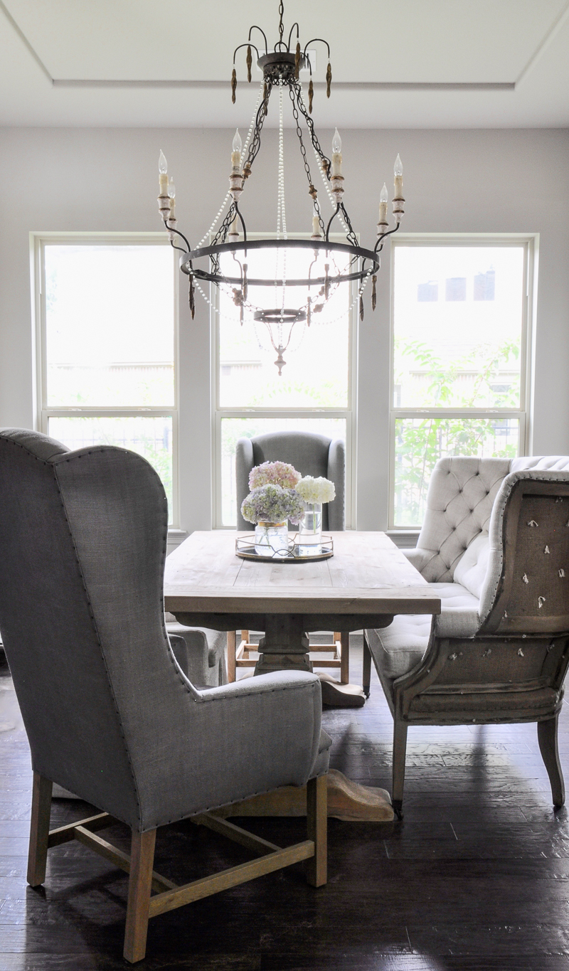 Restoration Hardware Dining Room Lighting