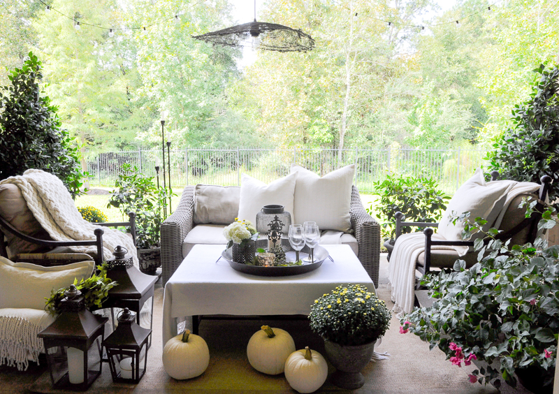 How To Decorate Your Patio For Fall