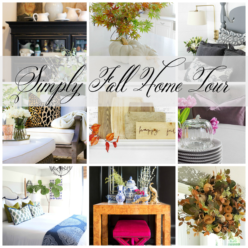 Fresh Fall Home Decorating Ideas Home Tour: Simply Fall Home Tour