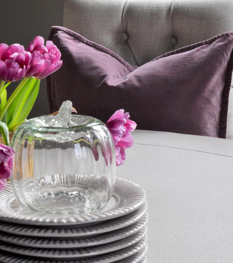 beautiful-purple-velvet-potteru-barn-pillow-with-glass-pumkin
