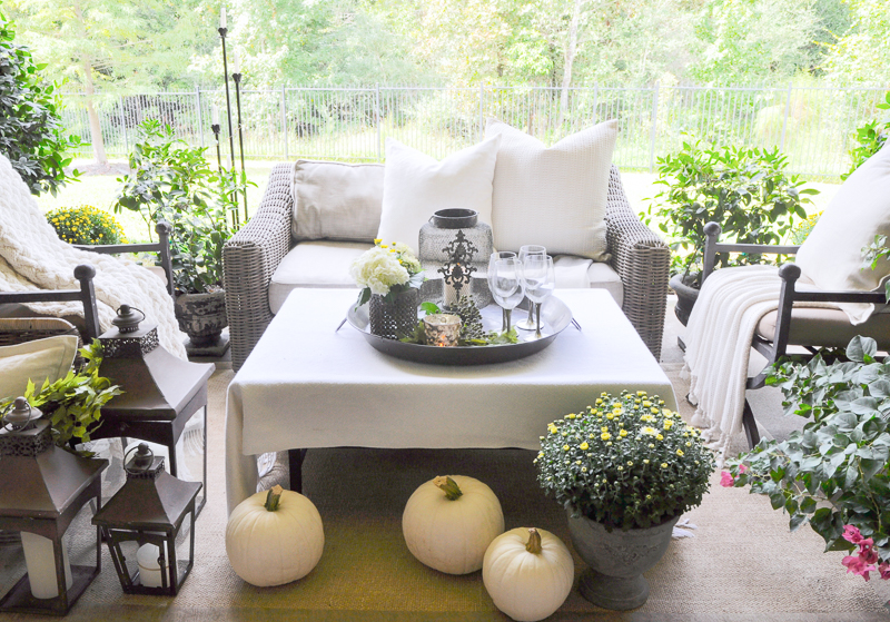 elegant back patio decor and restoration hardware furniture - Patio Decor