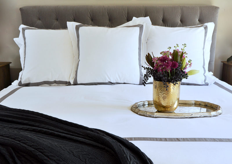 Hotel Look give your bedding a hotel look and feel - decor gold designs