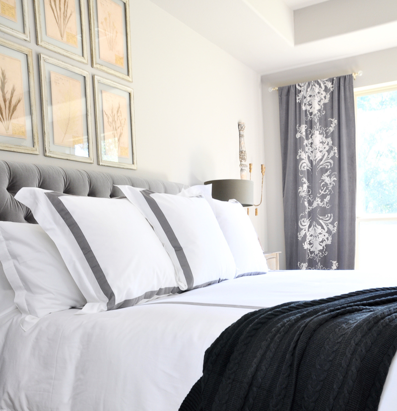 Gorgeous Gray And White Bedrooms: Give Your Bedding A Hotel Look And Feel