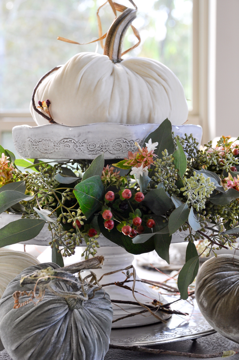 beautiful-white-velvet-pumpkin-vignette