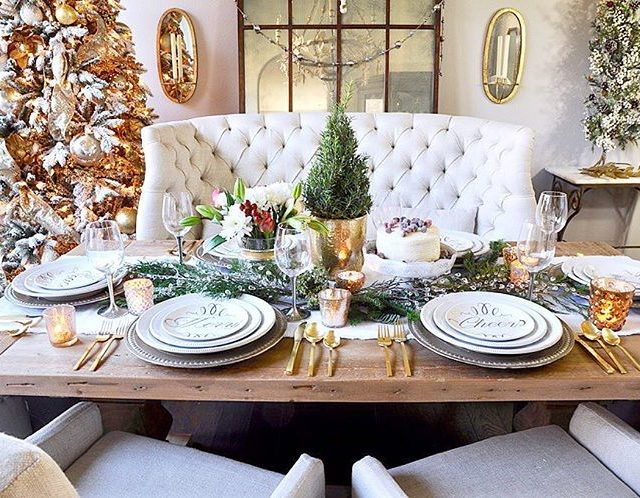 Have you had the chance to see my Christmas tablehellip