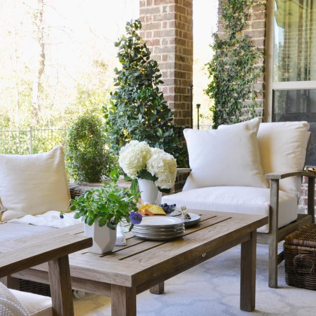 Patio Update Reveal on decorgolddesignscom! Link through decorgold Thank youhellip