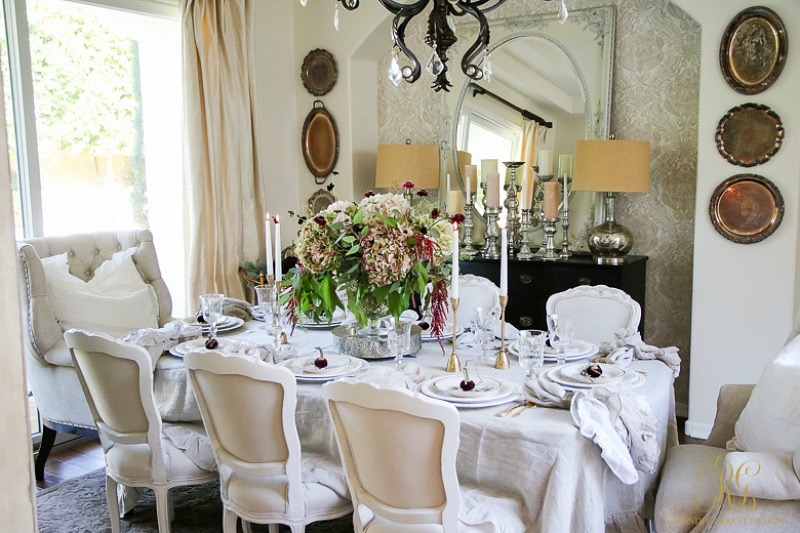 thanksgiving-table-lily-tablecloth-ruffle-tablecloth