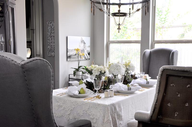 beautiful dining room decor gold designs
