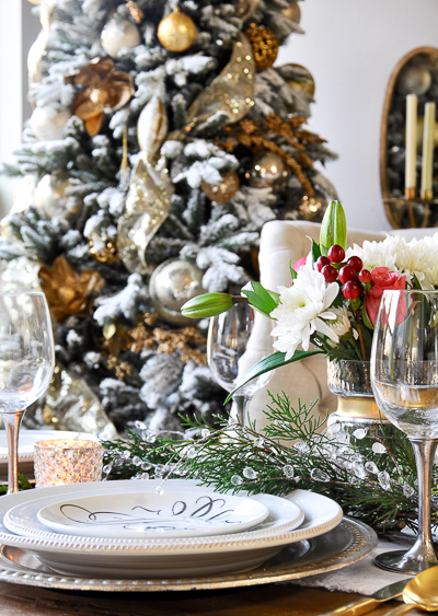 Christmas table by Decor Gold Designs