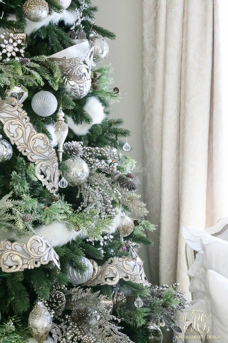 White Christmas Tree Design.Parade Of Christmas Trees 2016 Decor Gold Designs