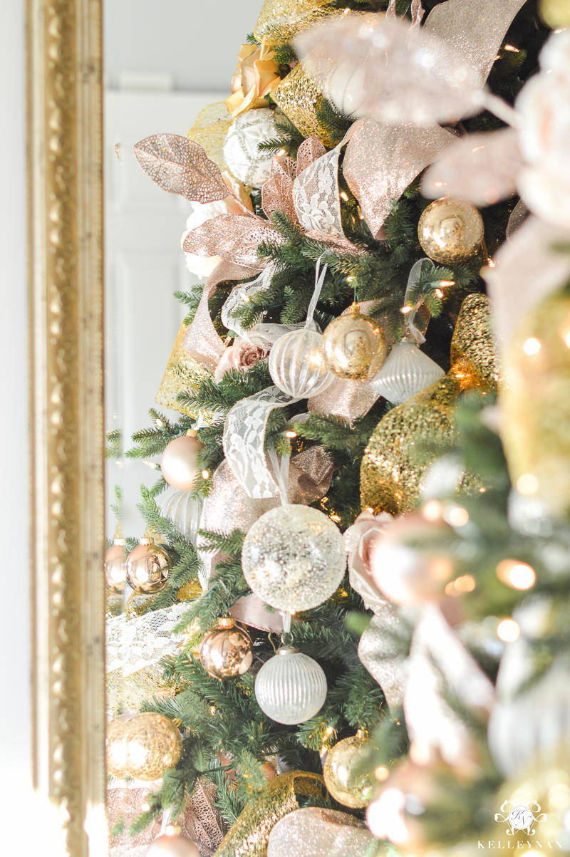 kelley-nan-blush-and white christmas tree so beautiful