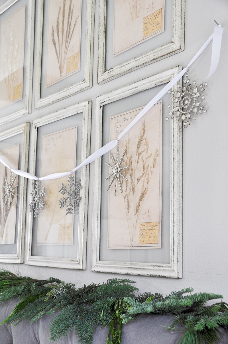 snowflake-garland-above-headboard