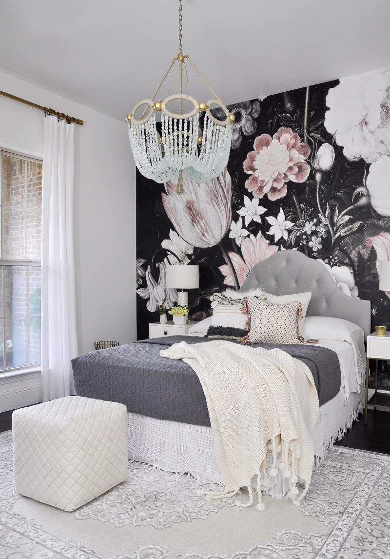 Top 10 posts of 2016 decor gold designs Bedroom flower decoration