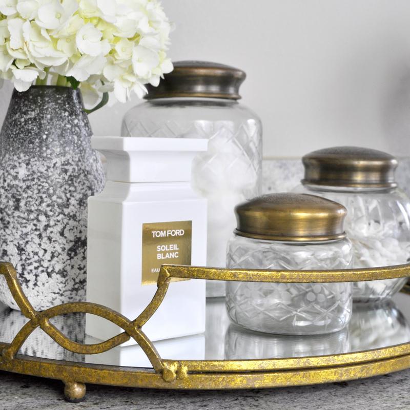 Decor Gold Designs: Master Bath Accessory Upgrade