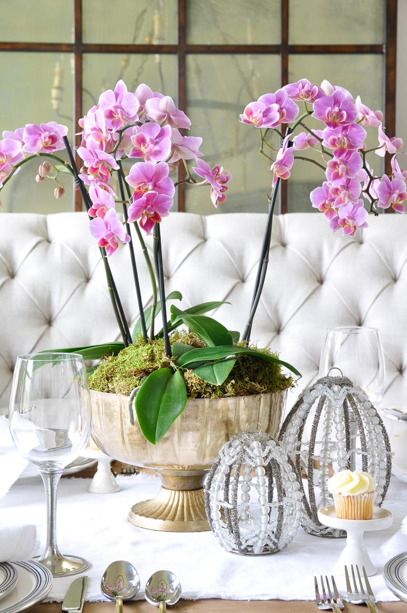 Elegant Easter Table Decor Gold Designs