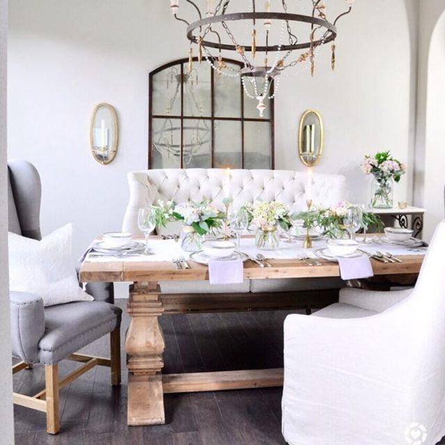 Dining Room Decor Gold Designs