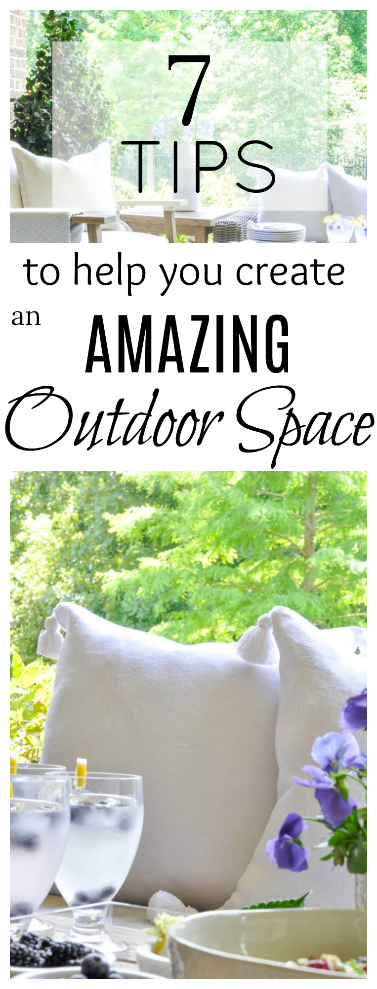 create a beautiful outdoor space