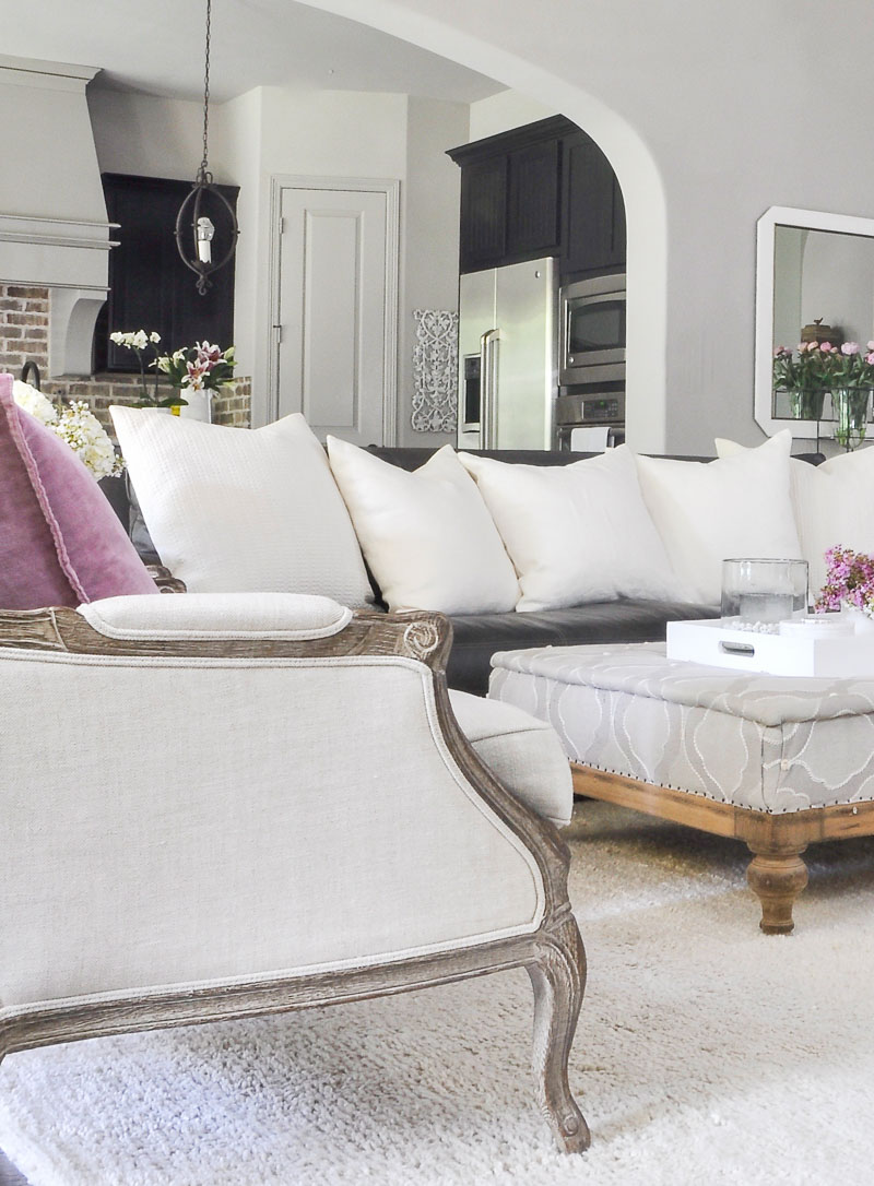 Living Room Color Pop design tips for adding a pop of color to any room or space.