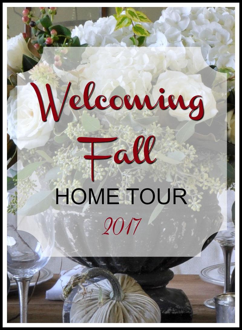 fall bedroom home tour