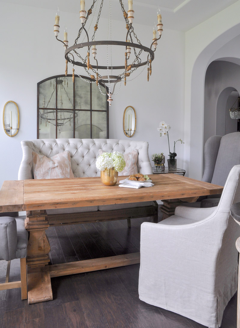 beautiful dining room tour