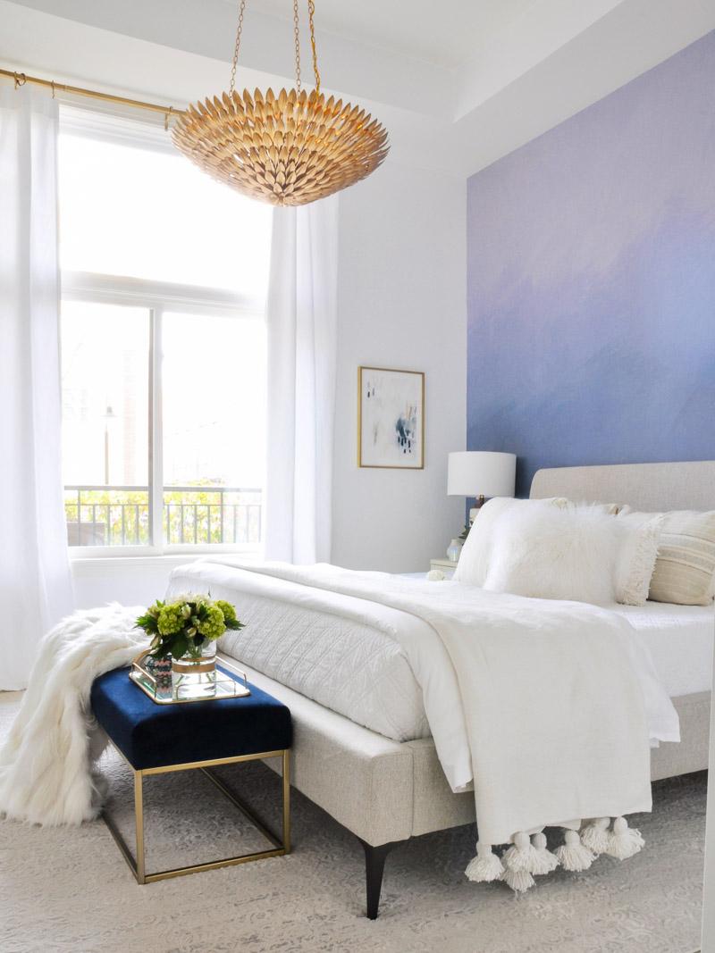 Beautiful bright Colorado loft bedroom