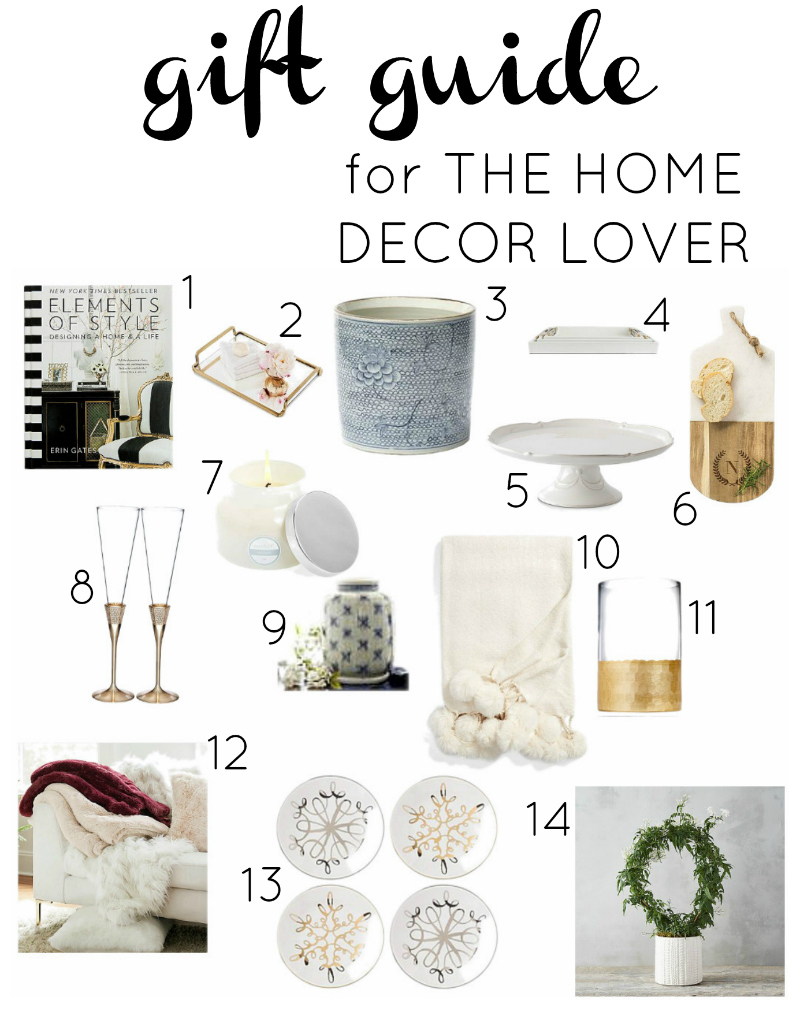 Gift Guide For The Home Decor Lover Decor Gold Designs