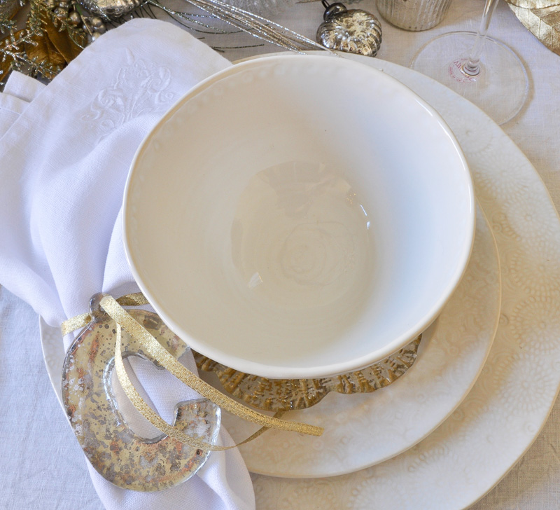 Beautiful white everyday dinnerware