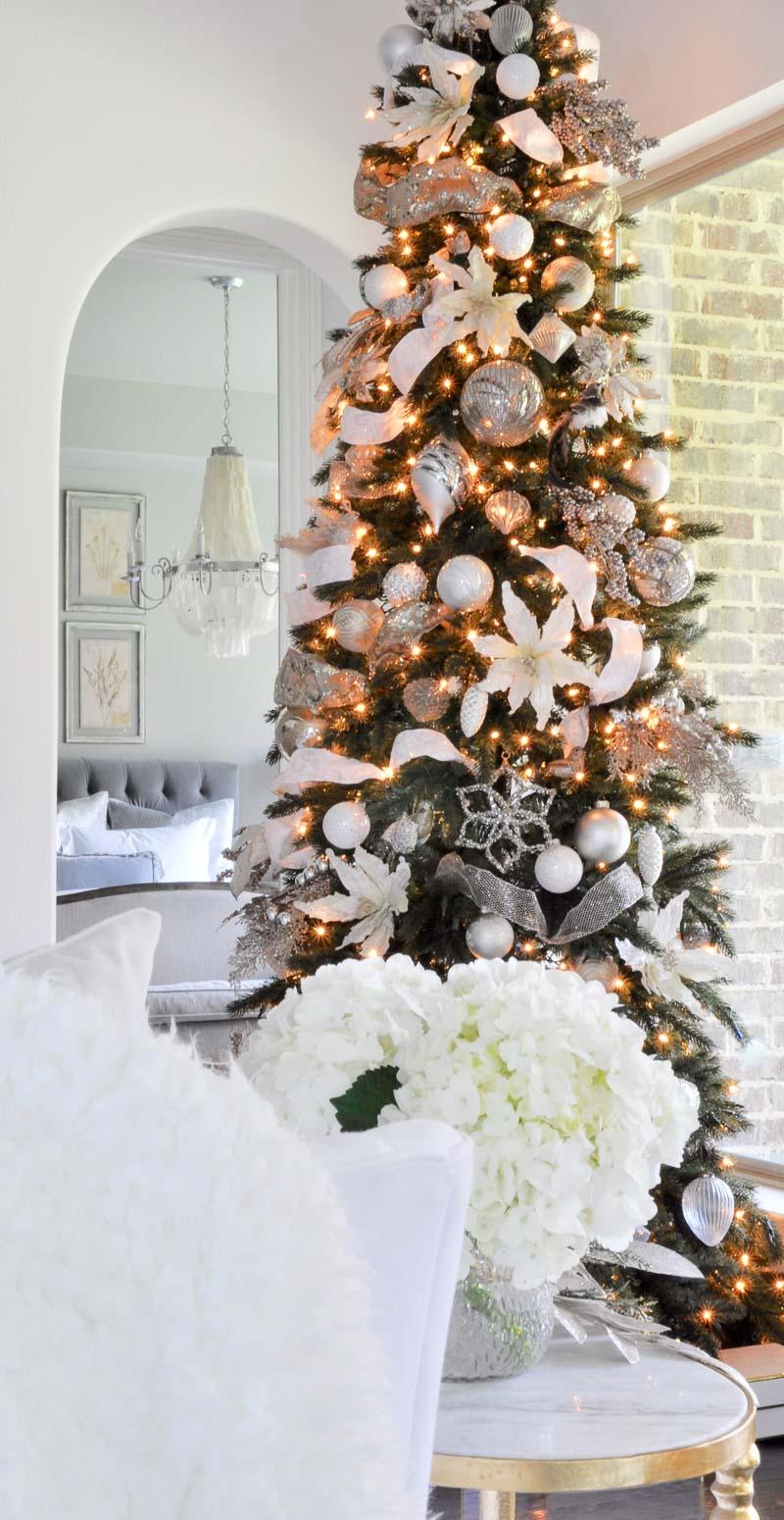 Rose Gold And Black Christmas Tree The Best Original Gemstone