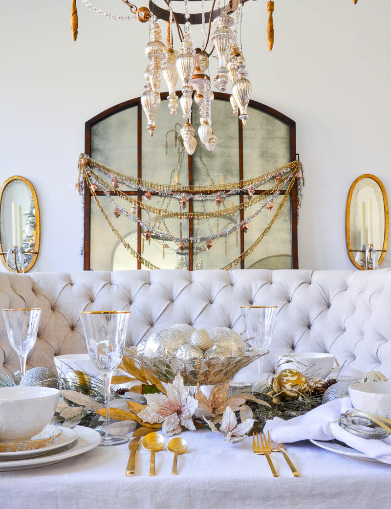 Elegant Traditional Christmas Dining Room By Decor Gold