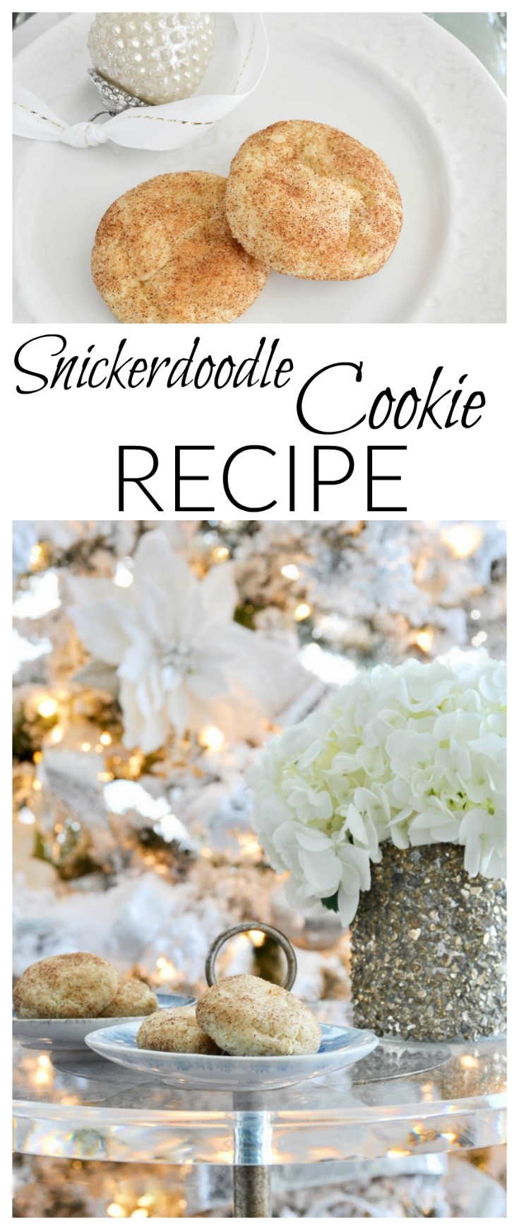 snickerdoodle christmas cookies