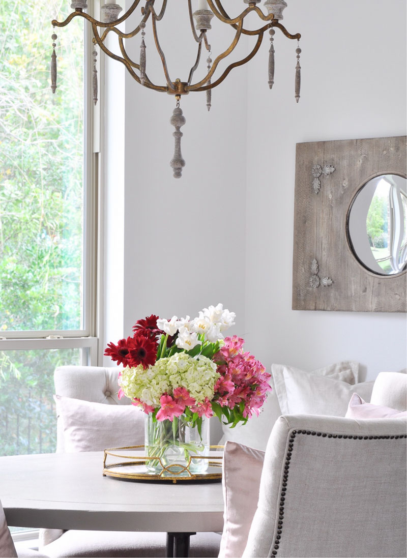 colorful flower arrangement for an inviting home
