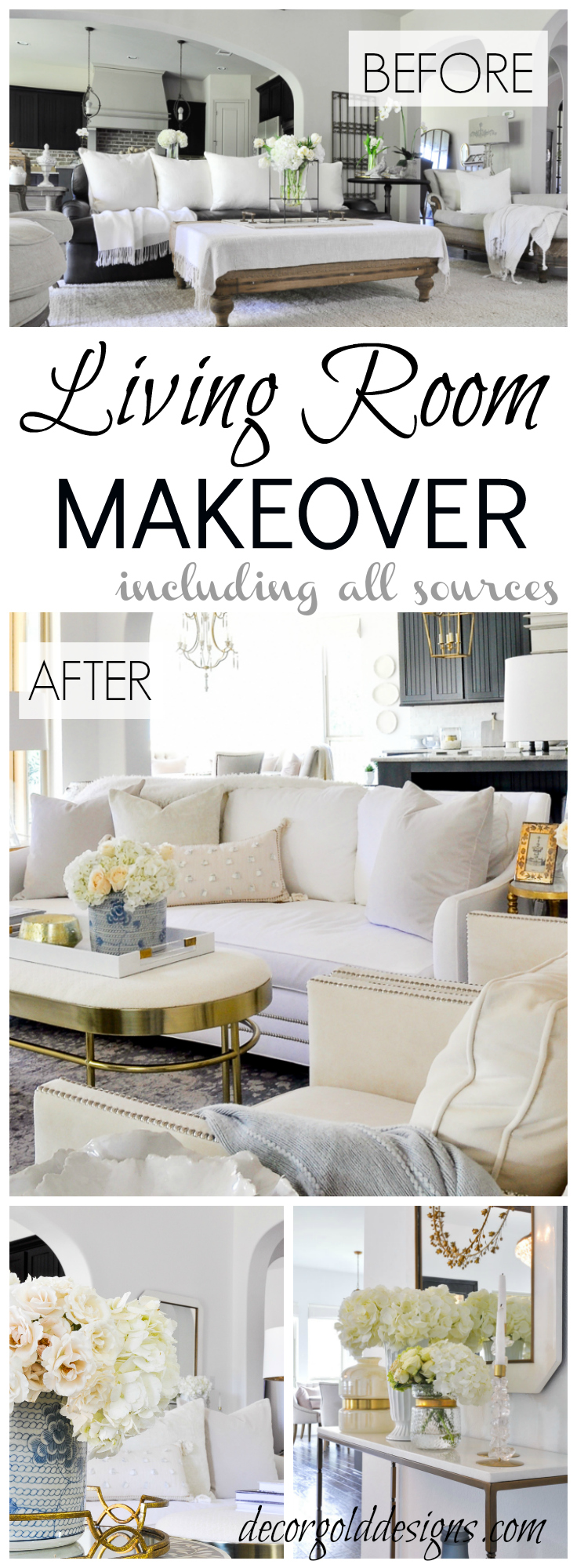 Beautiful Living Room Makeover