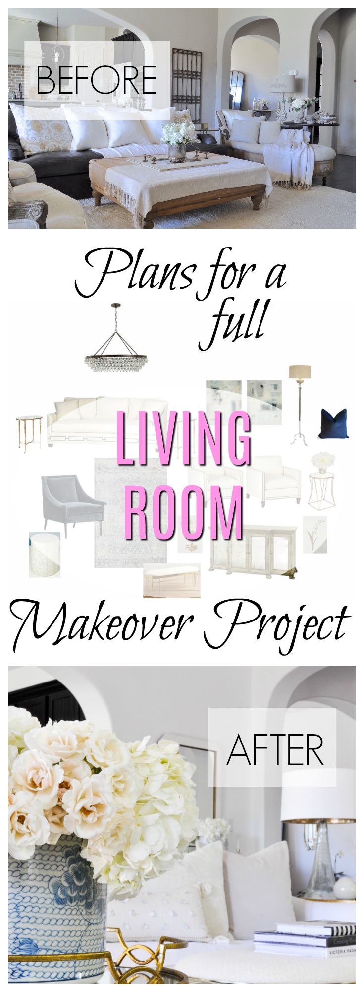 living room makeover project