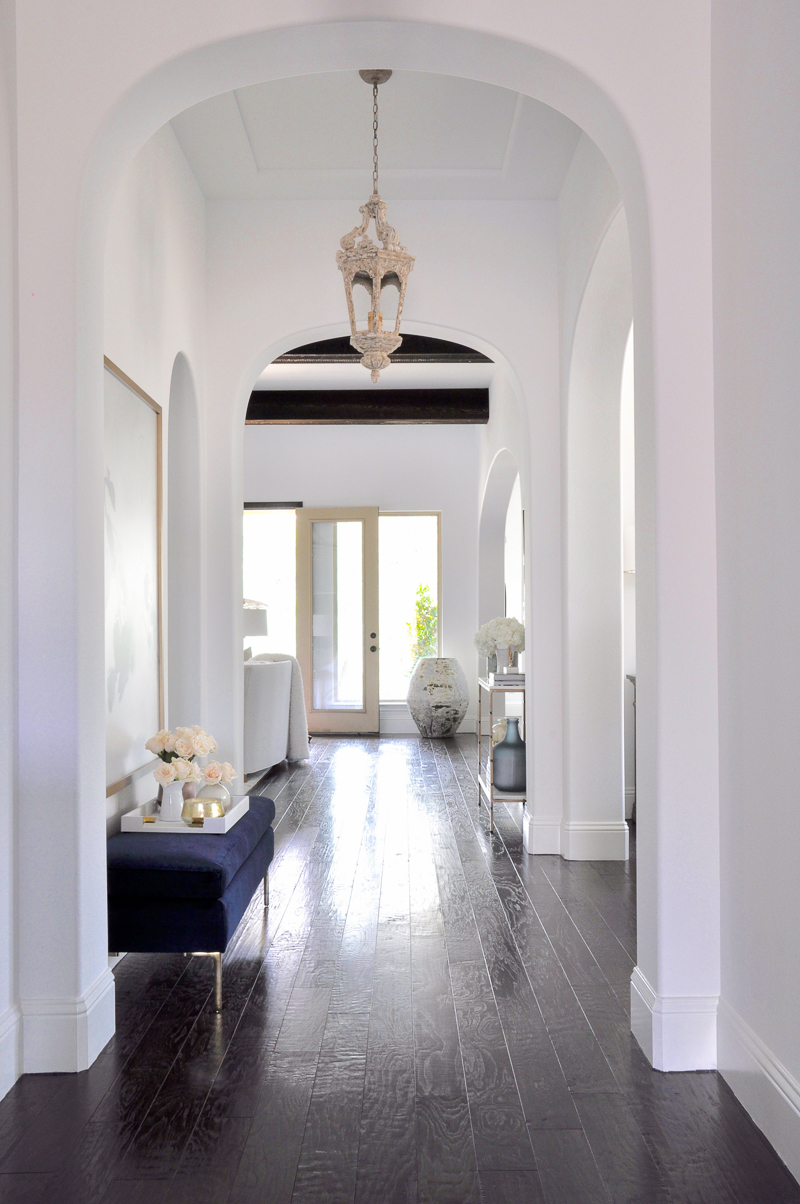 beautiful arched entryway