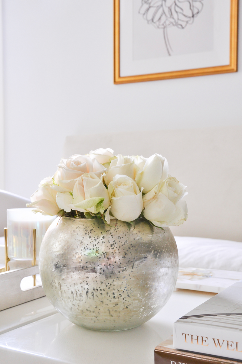 great tips for arranging rose in a round vase